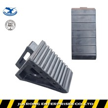 Lower Factoty Price 200*100*150mm Good Quality rubber wheel chock