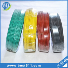 Flexible xlpe/pvc insulated AWG 1/0 2/0 3/0 building wire electric cable copper wire