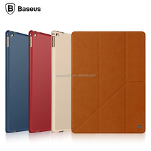 2015 NEW Original Baseus Terse Series Stand Intelligent Flip PU Leather Case for ipad pro smart Case 12.9inch