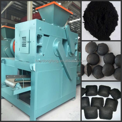 High pressure coal powder ball briquetting machine/coal fine press ball machine