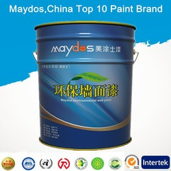 stain resistance exterior architectural latex coating