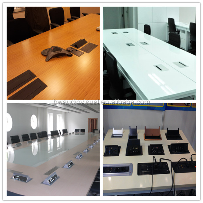 Automatic Up And Down Electrical Conference Table Power Outlet Buy - Conference table power hub