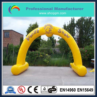 popular inflatable race arch for sale/inflatable entrance arch design
