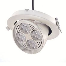 Commercial Spot lighting adjustable dimmable round recessed led downlight high quality