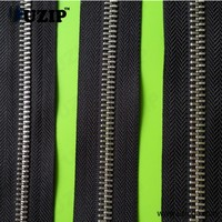 zipper 7 and zipper black for clothing