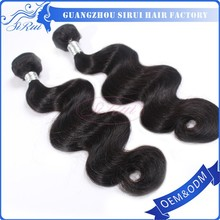 All cuticle same direction double drawn 100% Peruvian human hair factory directly sell