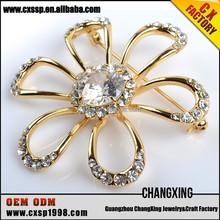 2015 Fashion noble lucky diamond rhinestone brooch wholesalecheap wholesale brooch