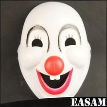 red nose clown mask ,cute clown masks, plastic clown mask