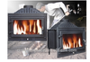wood burning fireplace insert JA007