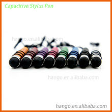 High Sensitivity Bullet-Shaped Capacitive Touch Screen Stylus Pen For Samsung Galaxy