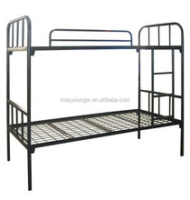 school /labor /military bunk steel bed/new design strong steel bed furniture