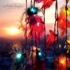 Mix Feathers String Lights/Fairy/Lamp Handmade For Home/Christmas/Wedding Decor/Lighting, LED Available, CE/GS/SAA/UL