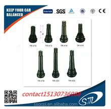 snap in passenger car rubber tire valves tubeless tr414 tire valves