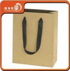 fashional craft paper shopping bag for clothes