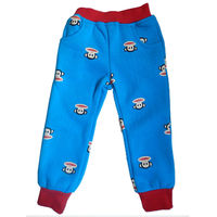 Specialized Manufacturer 100% cotton print wholesale kids palazzo pants