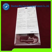 High quality custom plastic sliding card blister packaging