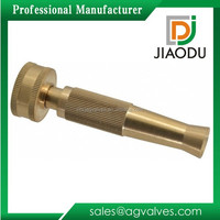 Forged Brass Connector Garden Hose Pipe Water Jet Nozzle