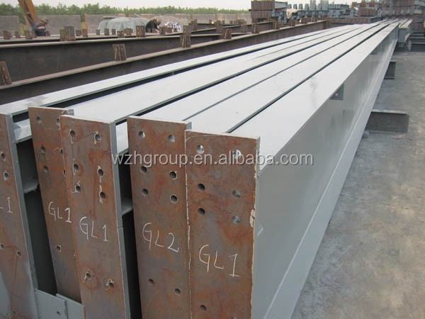 Heat insulated prefab steel building with h column and for Prefab columns