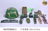 Customized small plastic toy, cheap plastic toy soldier factory wholesale,army soldiers plastic action figure toys with helmet