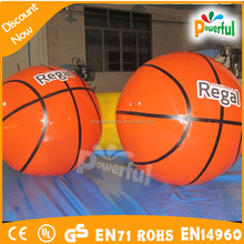 inflatable giant basketball,helium basketball balloon on sale