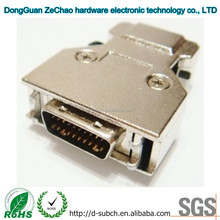 20 Pin SCSI Female/Male Connectors,Backshells.1.27mm Pitch,Straight Interface to PCB