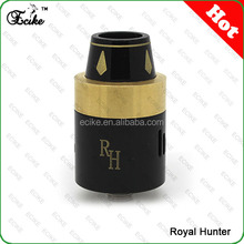Top selling products 2015 ecike new style product caravela rda dripping atomizers 1:1 clone royal hunter ecig mod rda