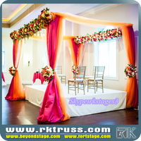 RK pipe and drape kits/western party events decoration/indian wedding mandap design
