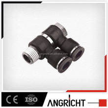 A156 Euro market double cross plastic air quick union fitting
