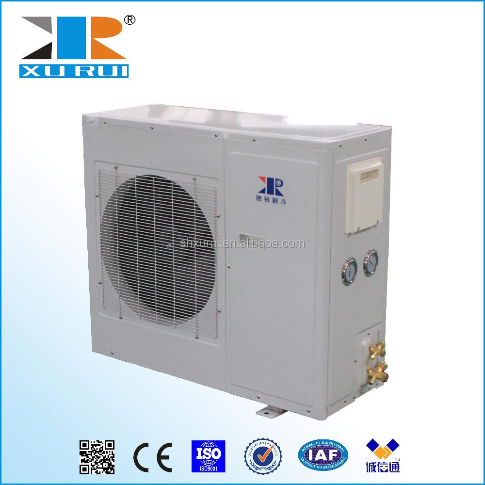 Air Temperature Units : Low temperature units air cooled condensing unit box type