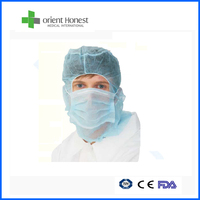 Nonwoven filter paper surgical beard mask