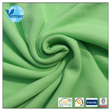 100% Cotton Pique Fabric PK Clear Mesh Fabric for Polo Shirt
