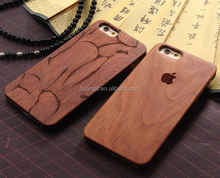 2015 Original Totem designs engraved Rosewood phone case for iphone 5s wood case with pc china suppliers