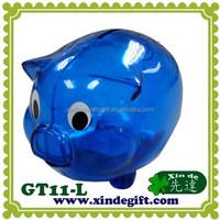Large plastic piggy coin bank, Saving Bank, Piggy Bank, Money Box - Hucha - coin bank