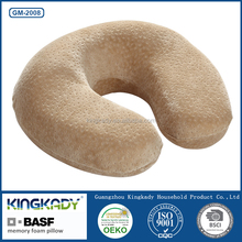 Wholesale high quality car seat filling upholstery bamboo cover chair sleeping shredded memory foam neck pillow