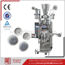 MD-f6 Electric Driven Type Vertical form fill seal machine For Round Coffee Pod Packing