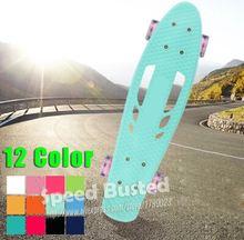 New Portable Penny Board Skateboard Mini Cruiser longboard for Girl Boy Skate Fish Long Board Penny nickel Retro Board 22
