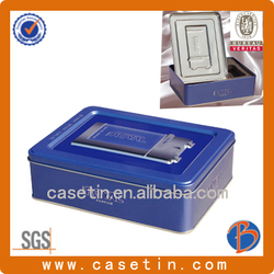 business card tin/card tin box /business card tin box