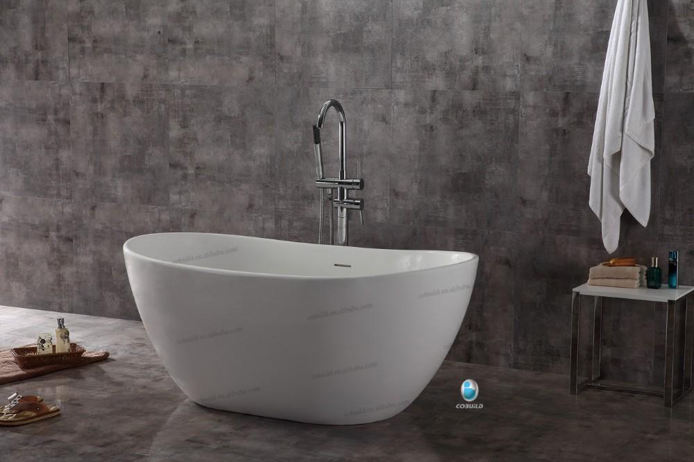 Alibaba hotsale diseño moderno bañeras de piedra artificial-Duchas ...