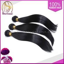 Grossiste brésilien trame de cheveux, Non transformés gros cheveux brésiliens vierges