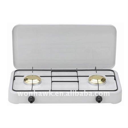 Port til de gas gama cocina con 2 quemadores fogones - Cocina portatil gas ...