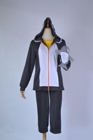 cheap Anime Free! Iwatobi Swim Club Tachibana Makoto Cosplay Costume Killer Whale Sports Suit Custom made with Shark Glove