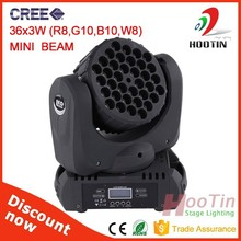 Low Price LED Moving Head Testa Mobile LED Wash 36