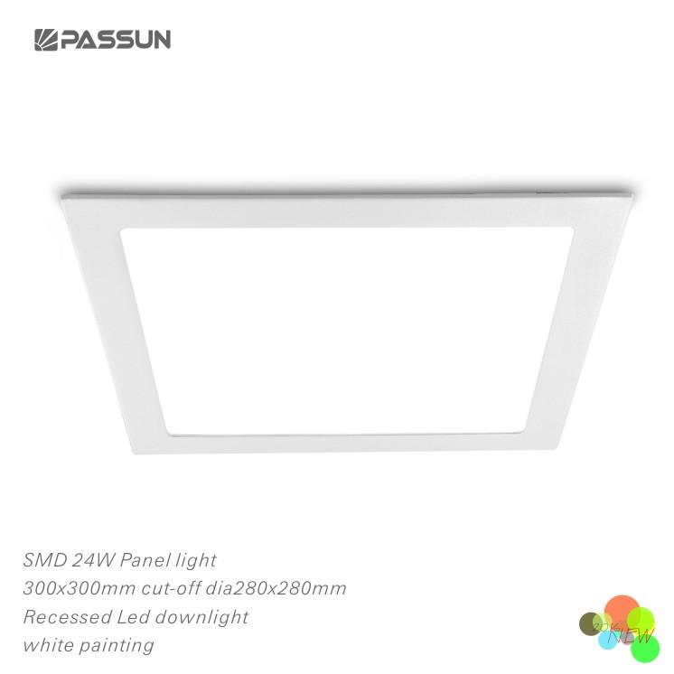 슈퍼 밝기 24 와트 300x300 미리메터 빛 LED 패널 인테리어 조명