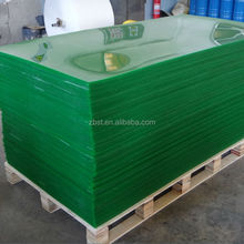 high quality polyurethane sheet, 80 shore A polyurethane sheet, 1200mm width green PU sheet,
