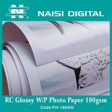 manufacture Inkjet glossy photo paper 180g