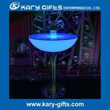que brilla intensamente tabla de la barra de bar interactiva de mesa portátil tabla de la barra de acero con