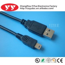 audio aux 3.5mm usb cable to stereo mini plug cable YY-U313