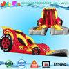 dual lane racer car big inflatable water slide adult for sale