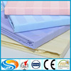 jacquard stripe satin polyester cotton fabric for bed sheet in roll