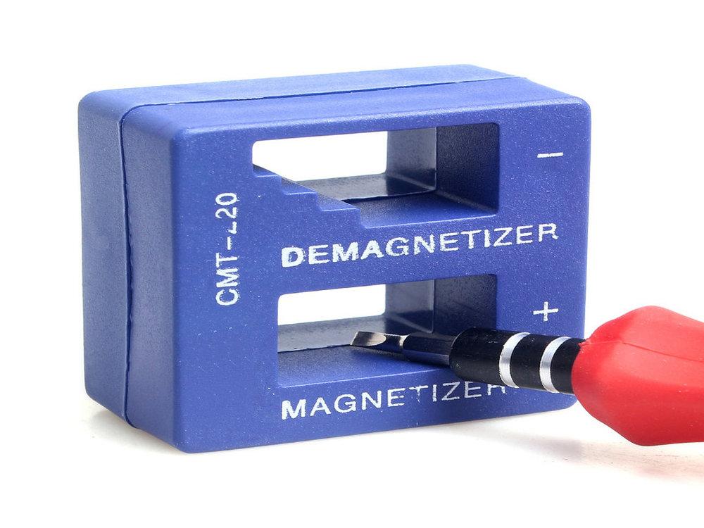 איכות גבוהה Magnetizer Demagnetizer כלי כחול מברג מגנטי